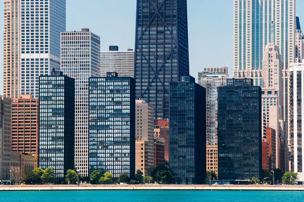 lake shore drive apartments in international style