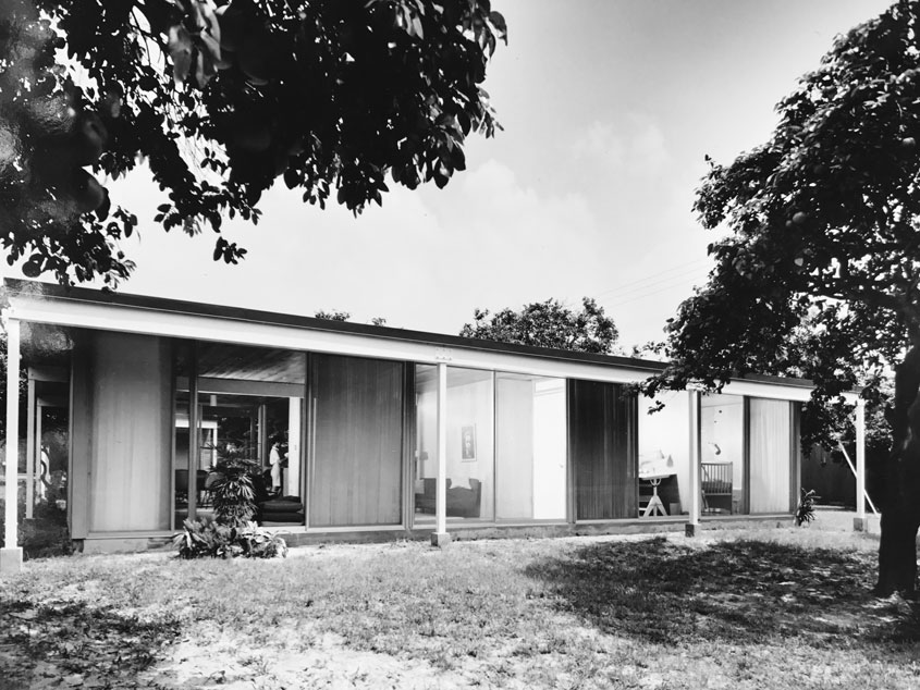 Gene Leedy designed house