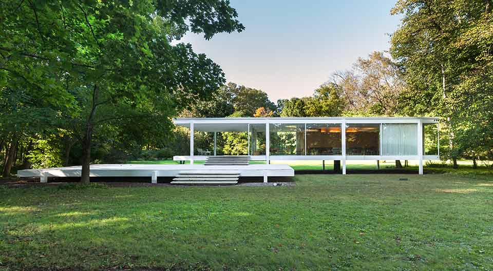 farnsworth house in international style