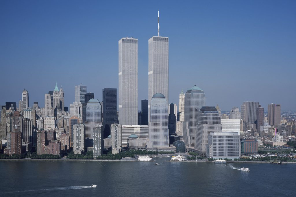 twin towers in international style