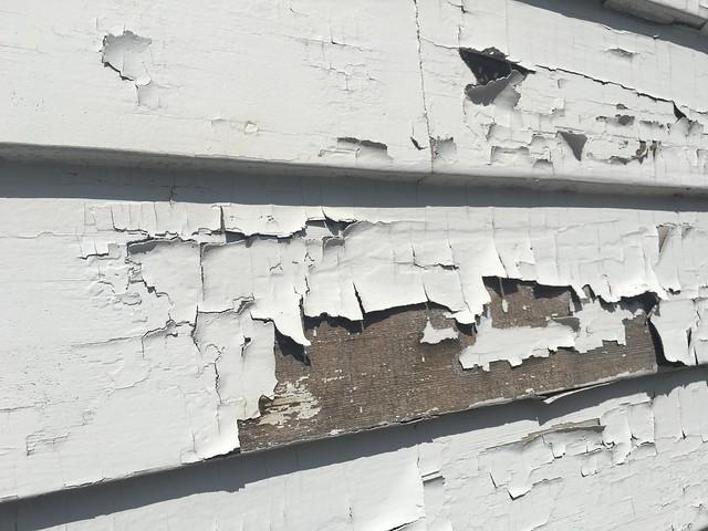 lead paint is a common dangerous material