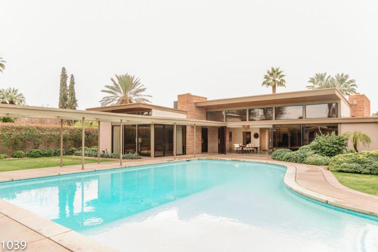 frank sinatra twin palms desert modernism