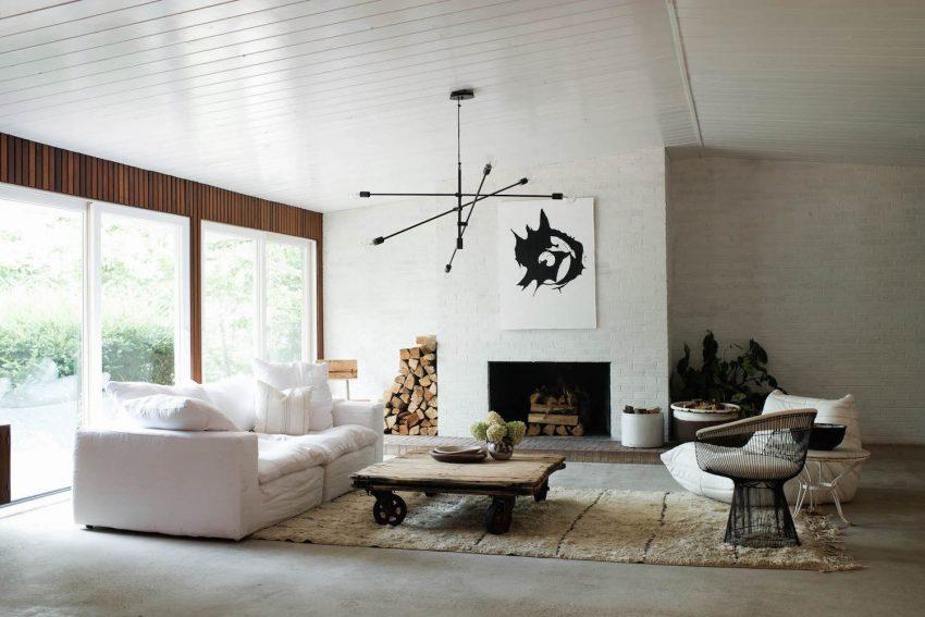 Minimal Mid Century Modern Get The Look With The Konmari Method Home