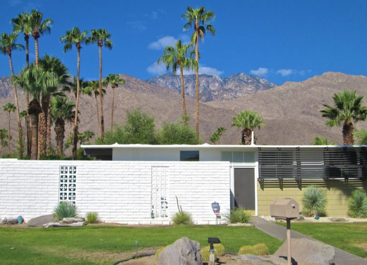 desert modernism william krisel tract home twin palms estates