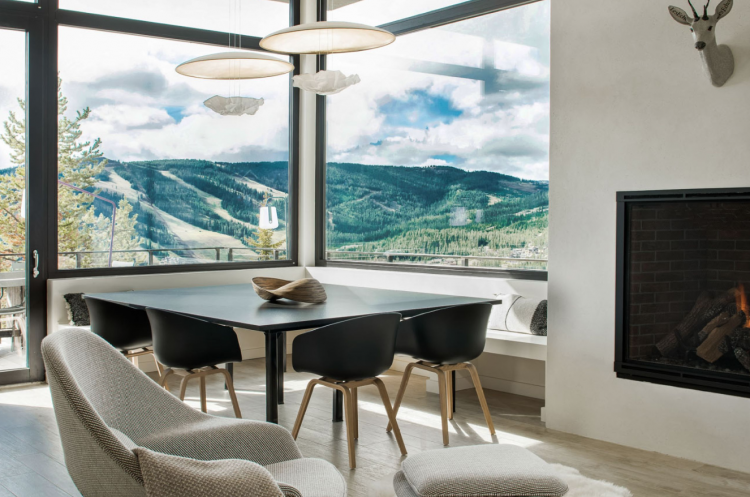mid century modern airbnbs montana cabin