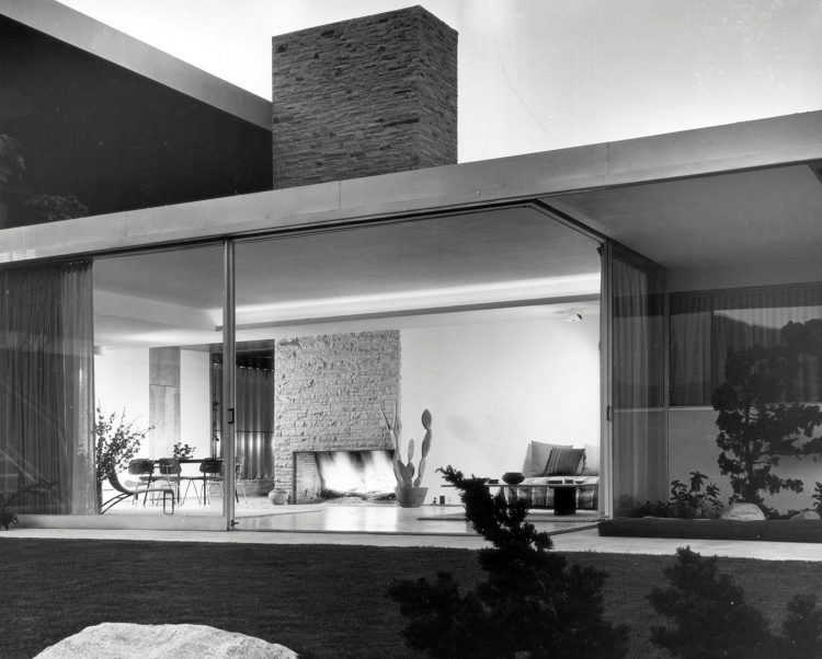 interior kaufmann house desert modernism