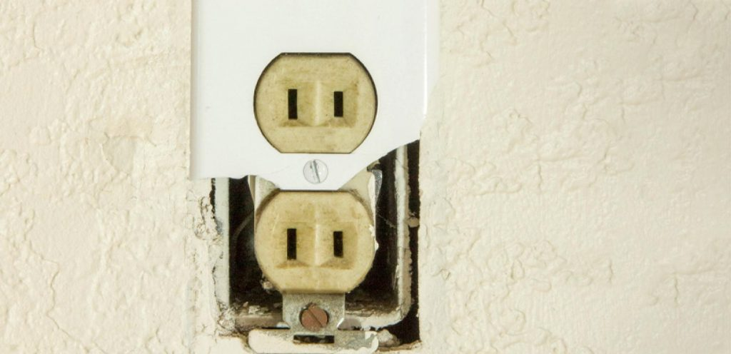 two-prong non-grounded outlets are not up to code