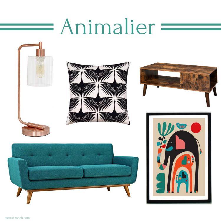 animalier mid century modern trends