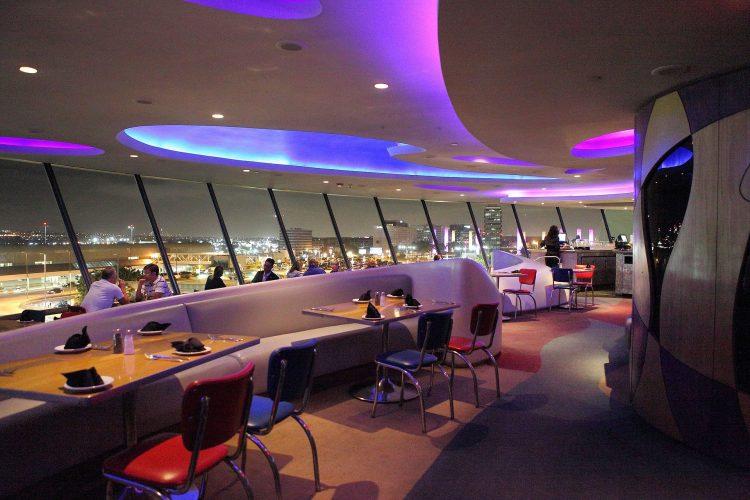 encounter restaurant in lax theme building