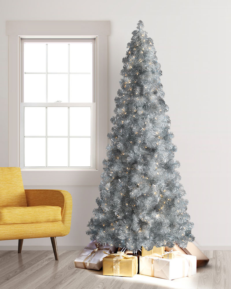 Treetopia Silver Artificial Christmas Tree
