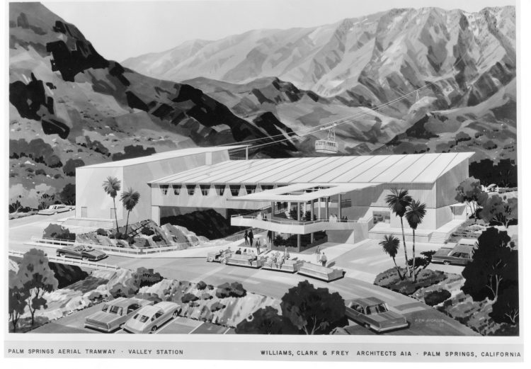 palm springs aerial tramway alfred frey