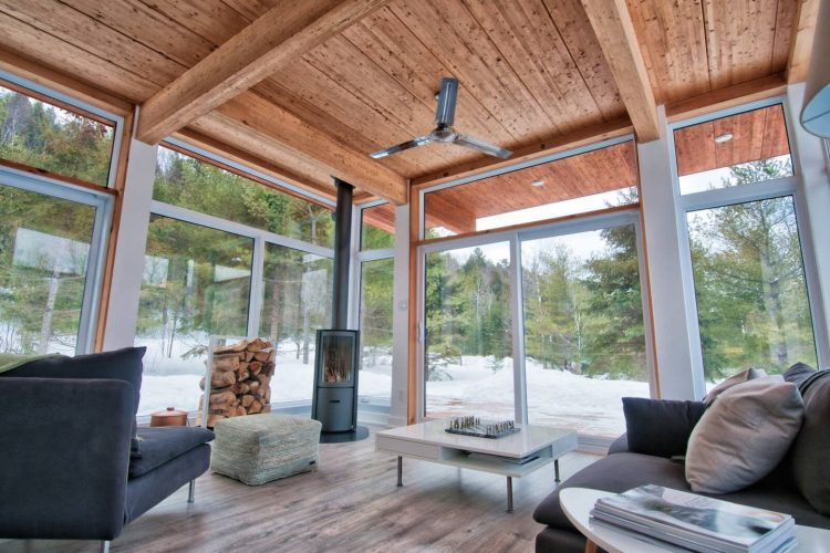 mid mod airbnbs for the holiday canada modern cabin