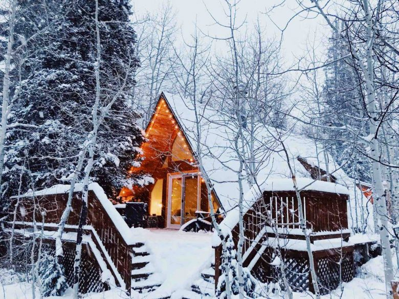 mid mod airbnbs for the holidays utah chalet