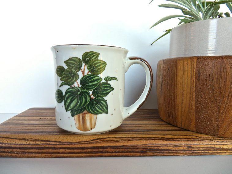 plant lover gifts vintage mug