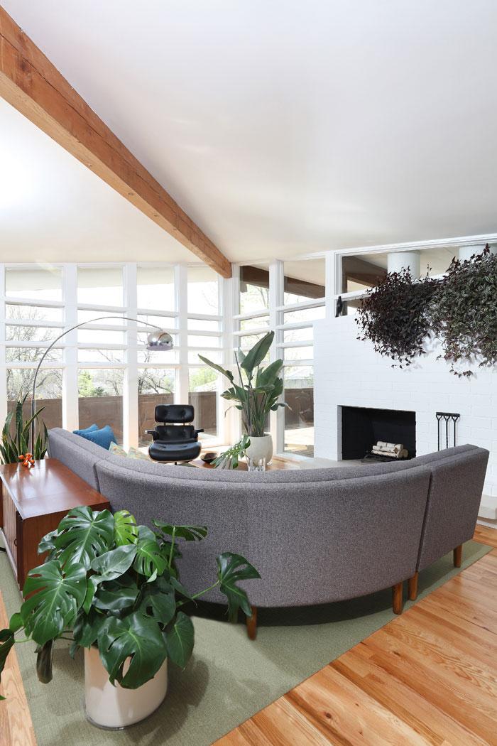 post and beam clerestory windows