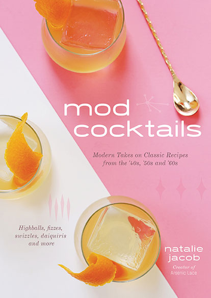 mod cocktails book cover
