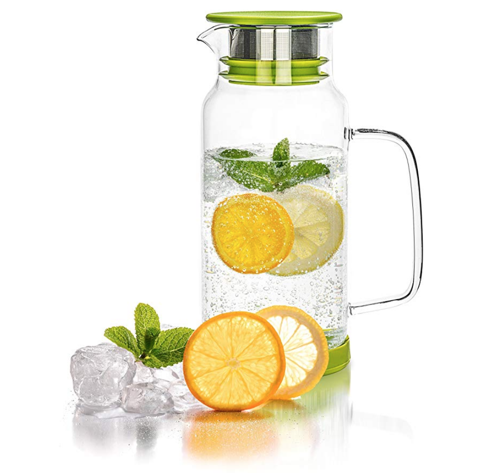 glass infuser carafe