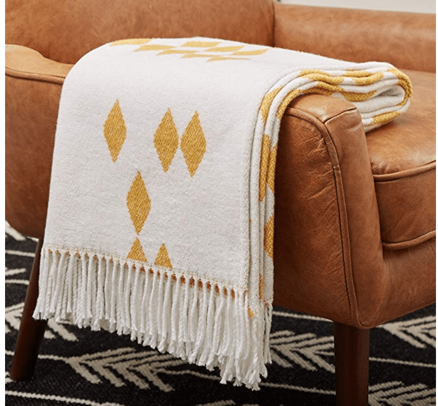 modern throw blanket