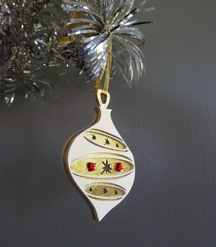atomic tiki ornament