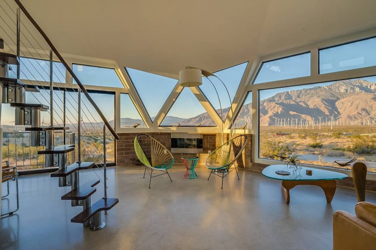 mid century modern spring break airbnbs palm springs home