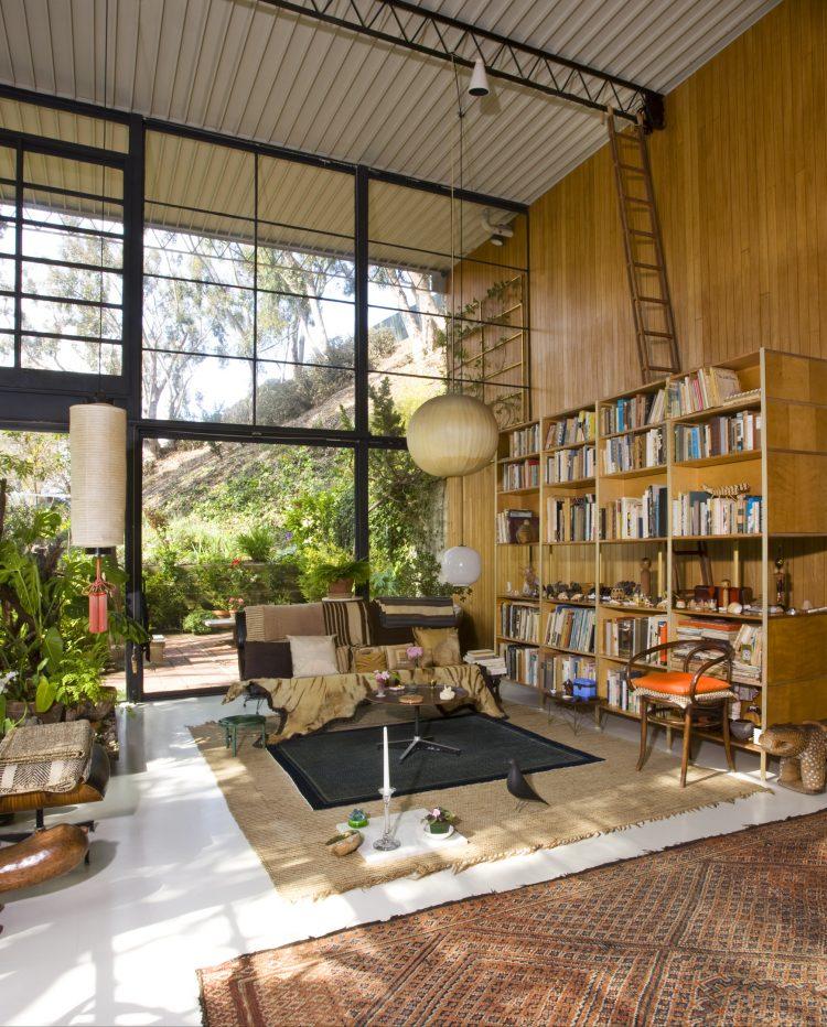 eames house living area
