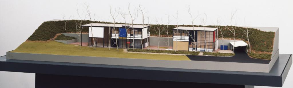 eames house scale model