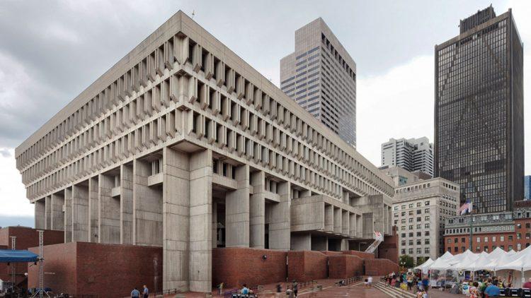mid century modern municipal architecture city hall brutalism