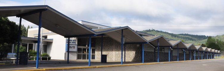 mid century modern municipal architecture middle school