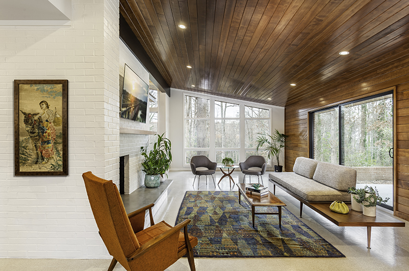 greenville south carolina mid century modern home tours