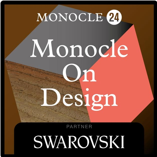 podcast for mid century modern fans: Logo for Monocle on Design podcast