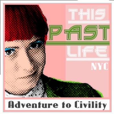 Podcasts for Mid Century Modern fans: This Past Life podcast logo