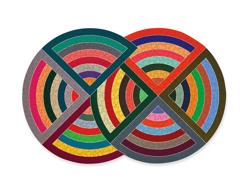 frank stella mid century modern puzzle and activity