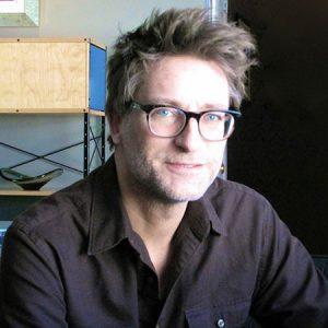 Ken MacIntyre in his Vancouver condo