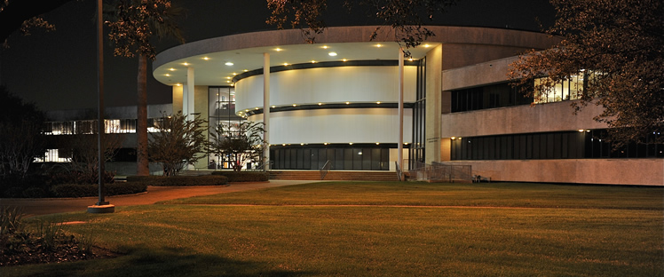 Martin Luther King Humanities building at Texas Southern University.