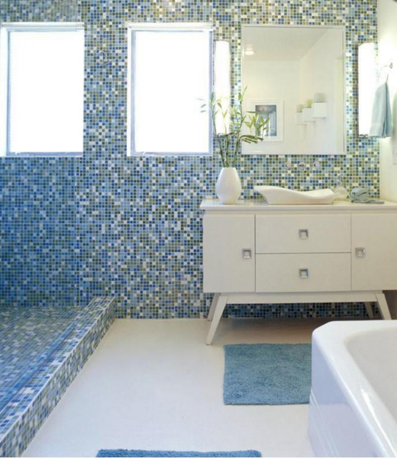 Mid Century Modern Bathroom Tile, Mid Century Bathroom Tile