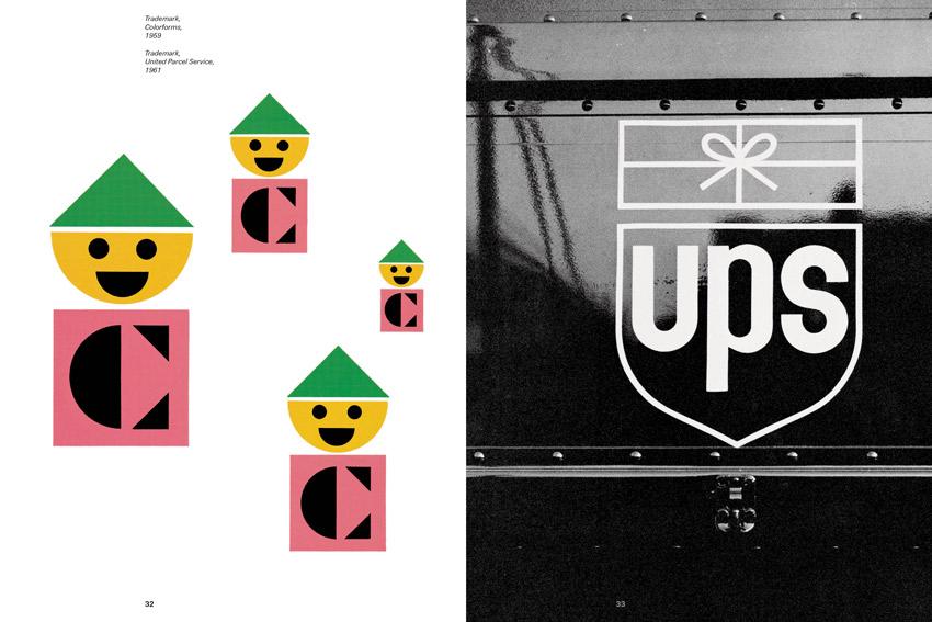 Paul Rand's famous logos including the UPS logo