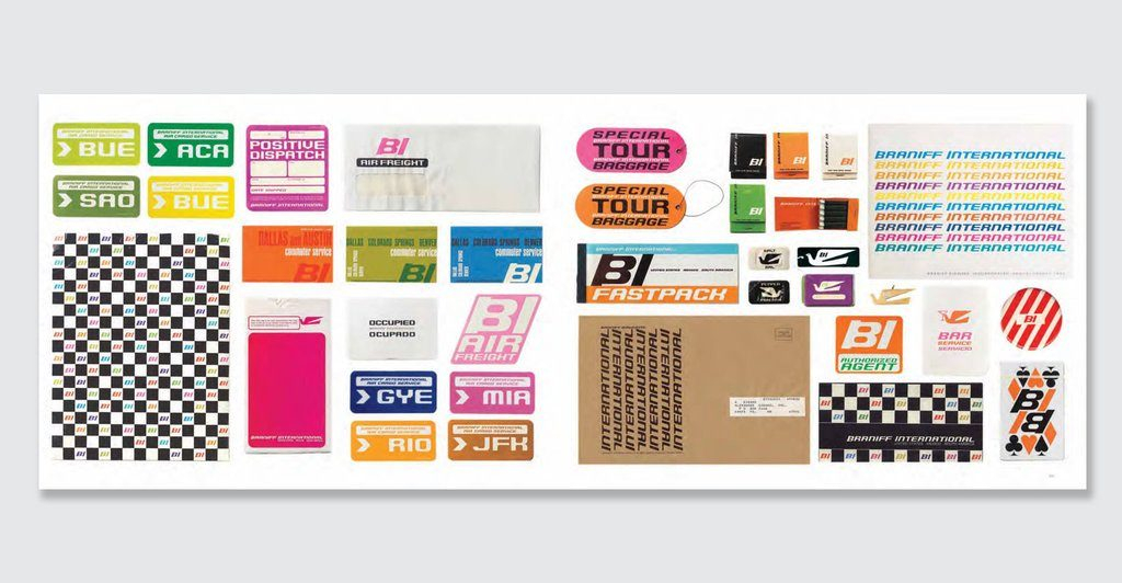 colorful range of graphic design by Alexander Girard