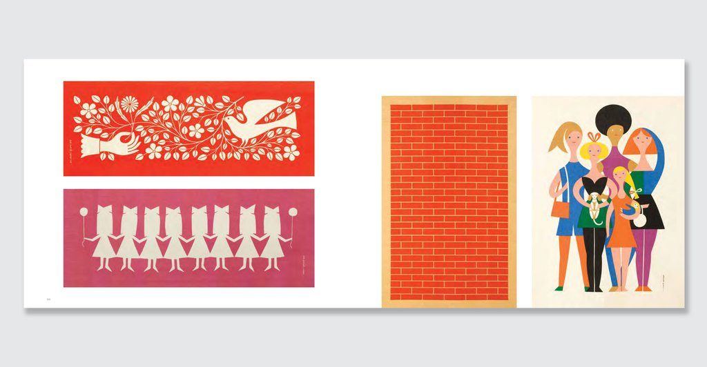 samples of alexander girards graphic designs
