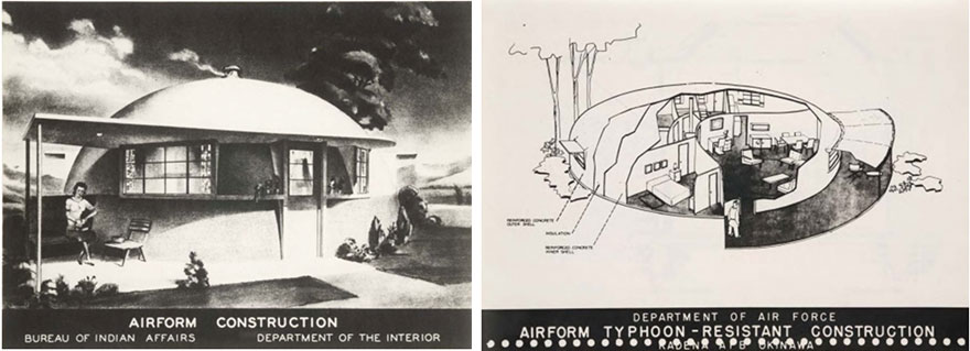 wallace neff's airform bubble house