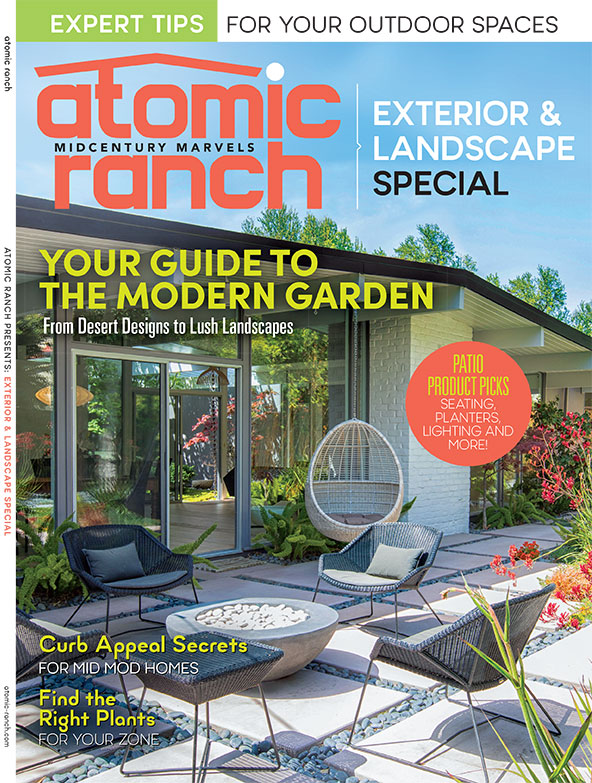 Atomic Ranch Exterior Design & Landscape Special