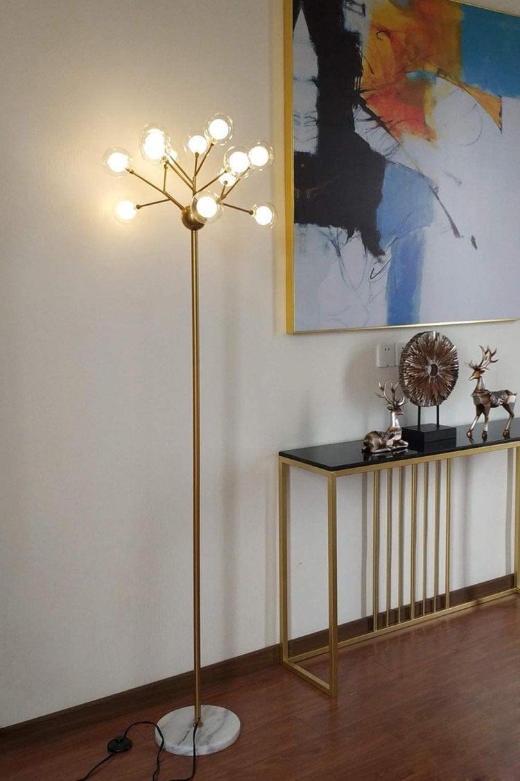 sputnik lamp mid century modern floor lamp