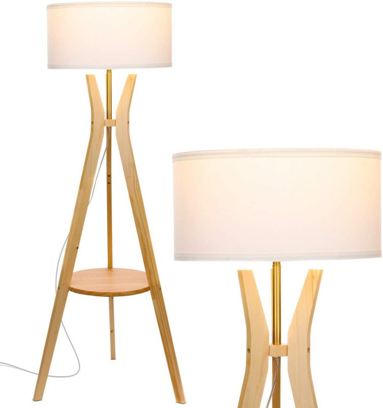 shelf lamp mid century modern floor lamp