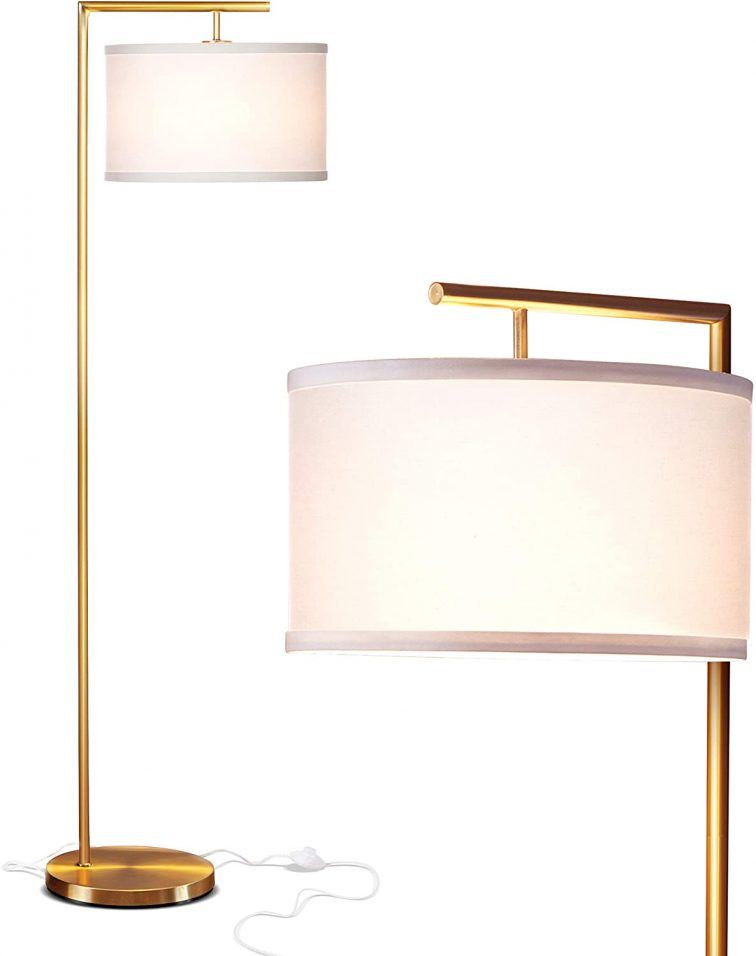 reading mid century modern floor lamp