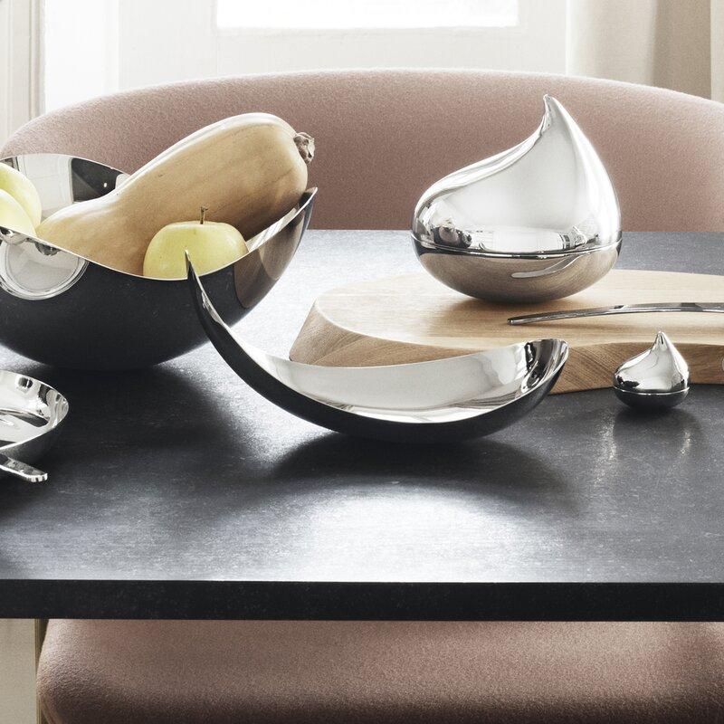 Georg Jensen silver serving bowls