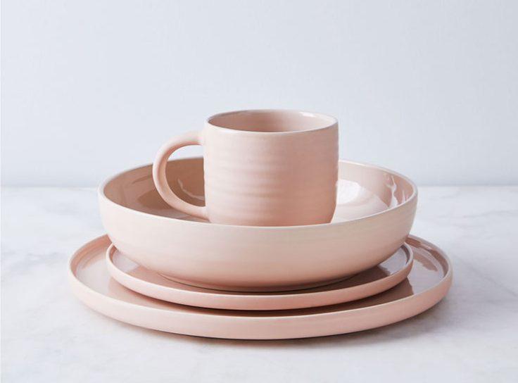 food 52 pink china set