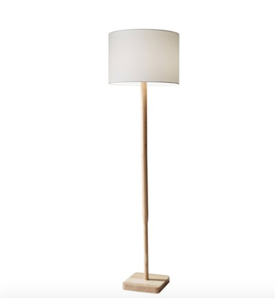 ellis floor lamp mid century modern floor lamp