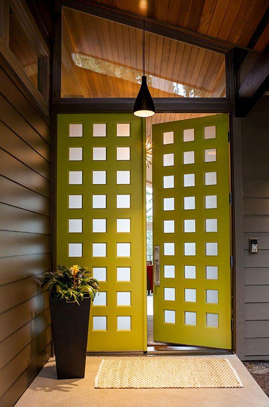 simpson doors mid century modern front doors