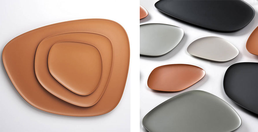 oval and oblong modern trays and dishes