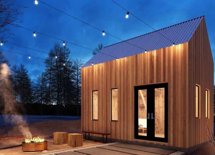 modern sheds oban cabin