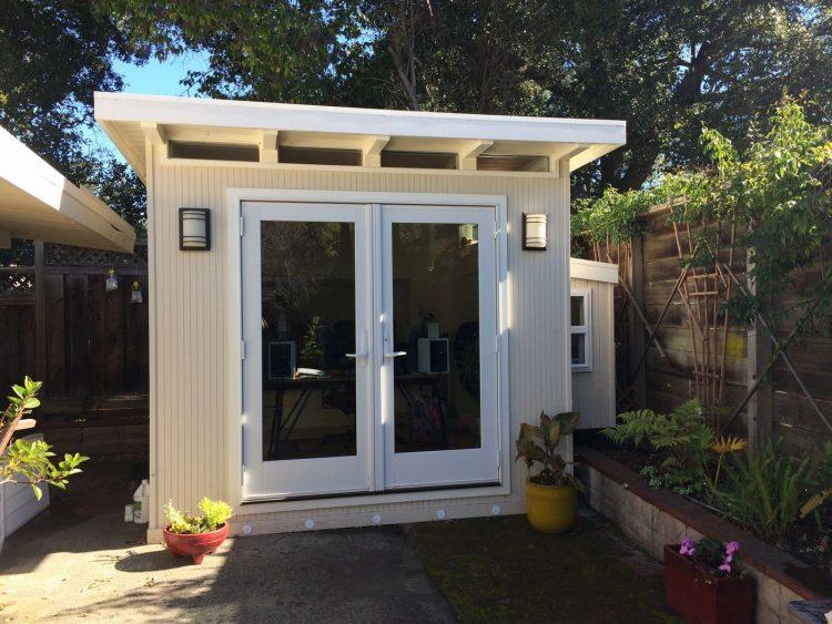 modern sheds backyard eichler